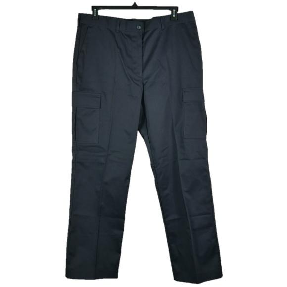 Edwards Womens Sz 18 Navy Blue Cargo Pant Uniform 1f13f8d5e9